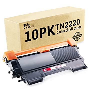 KIPEPO 10PK compatible TN2220 TN2210 TN450 cartucho de tóner ...