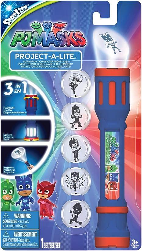 PJ Masks 40345 - Linterna de proyección con 6 lentes ...