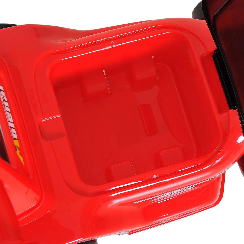 HOMCOM Coche Correpasillos Infantil Coche sin Pedales para Bebé Juguete Andador con Bocina 70.2x32.5x41cm