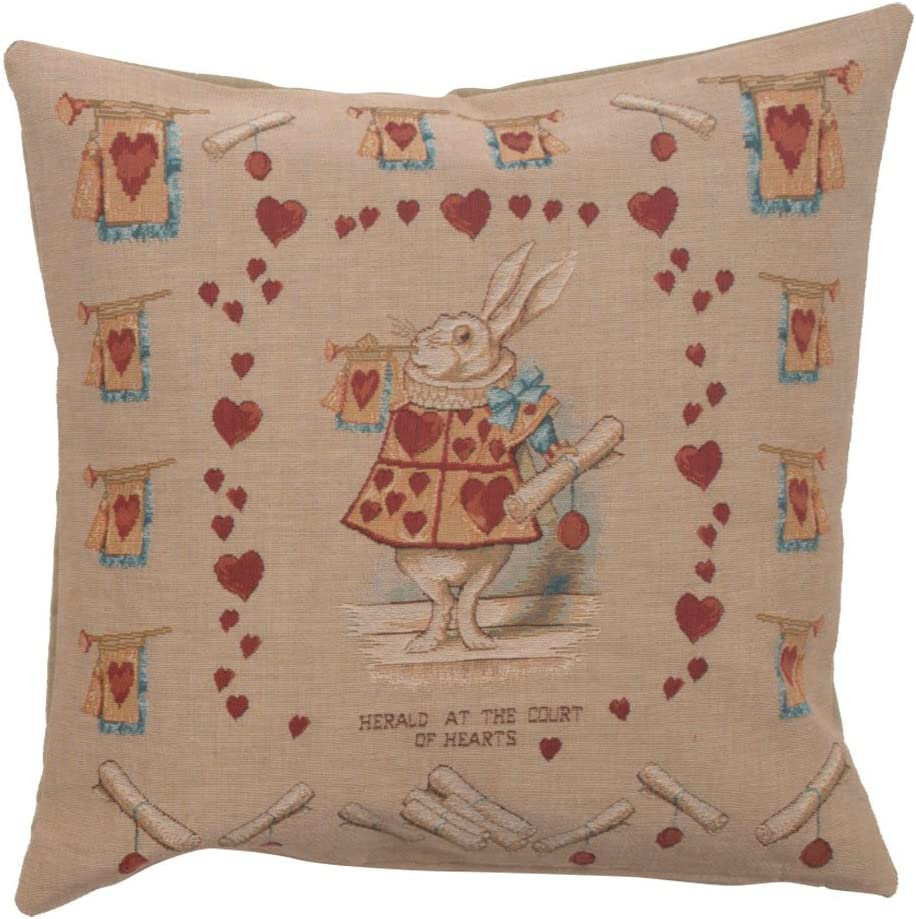 Alice IN wonderland Curtain Long Cushion Covers Pillow Cases Home Decor or Inner
