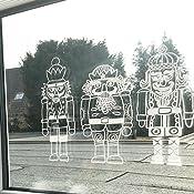 Vorlagenmappe Fensterdeko Mit Dem Kreidemarker Frohliche