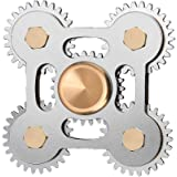 Aukwing Anti-Anxiety Fidget Spinner with Ceramic Bearings Spinning High Speed Focusing Finger Toy Stress Reducer for Staying Awake,and Autism Adult Children