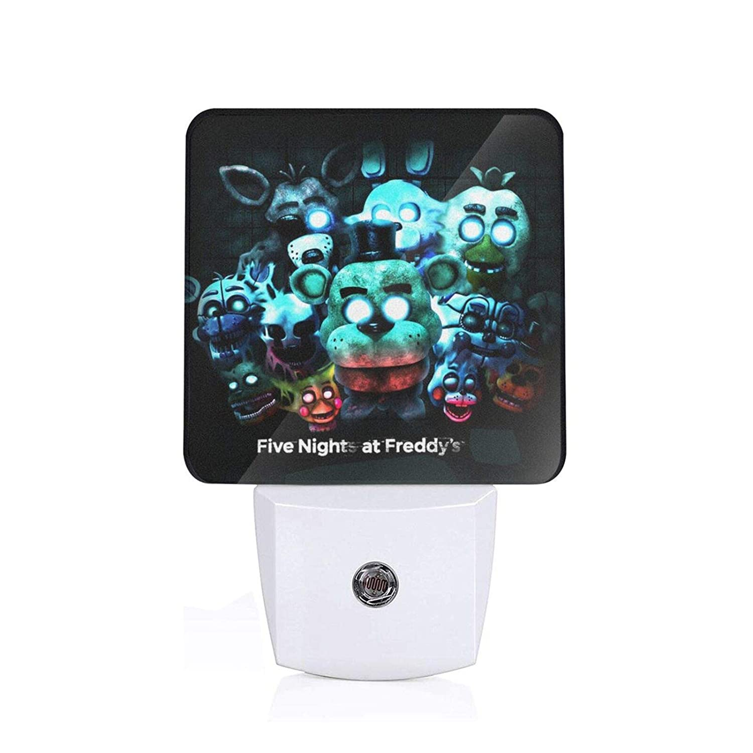 Boeduc Plug in LED Night Light Automatic Sensor Energy Efficient US - Five Nights Freddy
