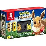 Nintendo Switch Pikachu & Eevee Edition + Pokemon Let's Go Eevee! + Pokeball Plus