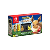 Nintendo Switch Pikachu & Eevee Edition + Pokemon Let's Go Eevee! + Pokeball Plus