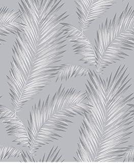 Arthouse Ardita papel pintado plateado 53 cm x 10.05 m