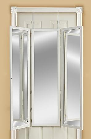 Mirrotek Triple View Dressing Mirror, White