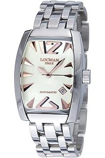 amazon com locman amazon exclusive men s 201slkvl quartz stealth locman men s 150bavgn panorama collection steel watch