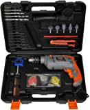 Terratek 500W Hammer Drill Kit, with Superb 207pc Tool & Accessory Set Complete in Robust Carry Case