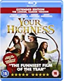 Your Highness Extended Edition (The Longer, Harder Version) [Blu-ray]