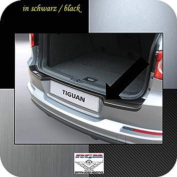 Richard Grant Mouldings Ltd. Original RGM ladekant Protección Negro para Volkswagen Tiguan SUV Combinado de 5 Puertas diseño años 09.2007 - 03.2016 Modelos ...