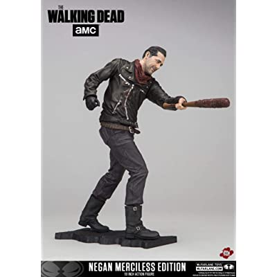 "McFarlane Toys Walking Dead Negan Merciless Edition 10"" Deluxe Figure: McFarlane Toys: Toys & Games"