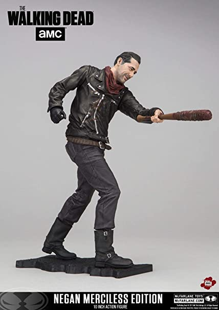 """McFarlane Toys The Walking Dead Negan Deluxe Edition 10/"""" Action Figure"""