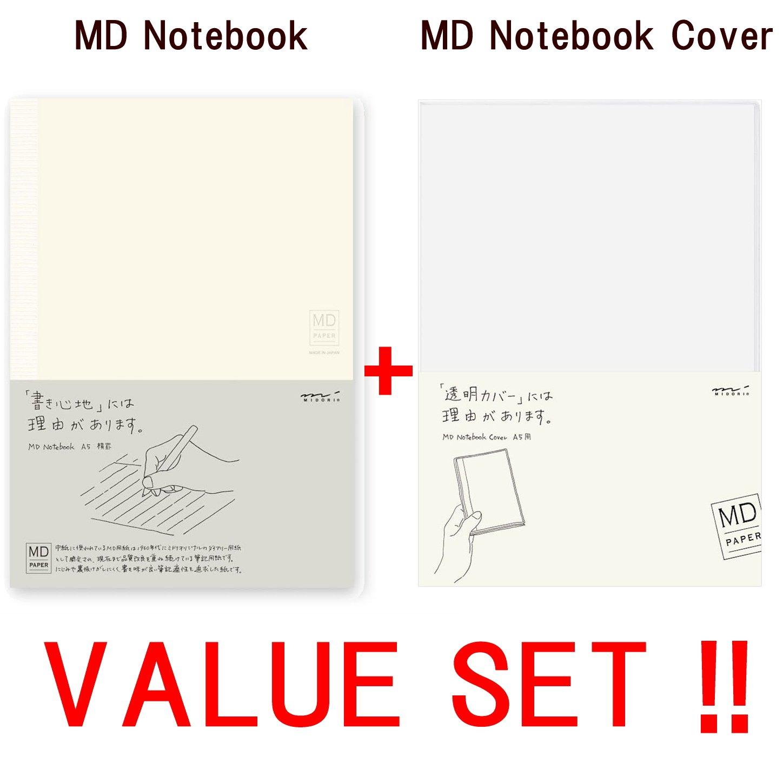 Midori MD Notebook - A5 Horizontal ruled line(13804006 ) +