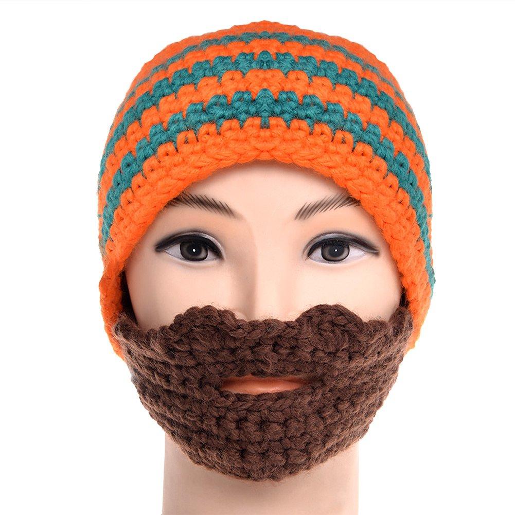 d8586261cf2 Vbiger Beard Hat Beanie Hat Knit Hat Winter Warm Octopus Hat Windproof Funny  for Men   Women  Amazon.in  Clothing   Accessories