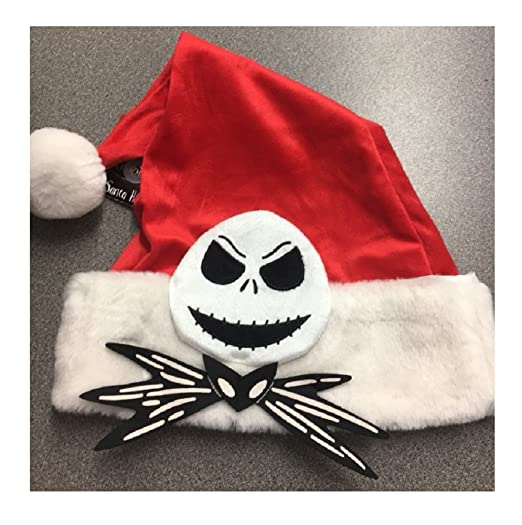 b24608c86e9d9 Image Unavailable. Image not available for. Color  Santa Hat Disney Tim  Burton s The Nightmare Before Christmas