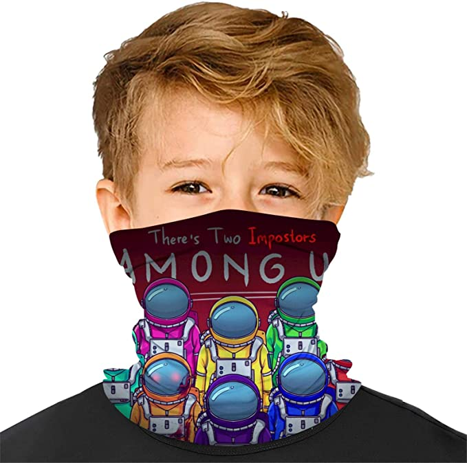 Baonmy Among Us Unisex Washable Reusable Facial Decorations Suitable For Kids