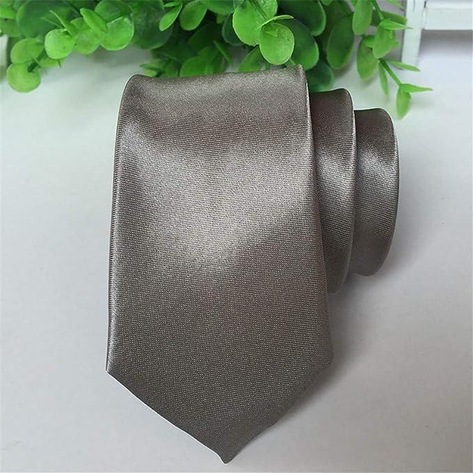 Zjuki corbata Corbatas Color sólido Corbata Escenario Rendimiento ...
