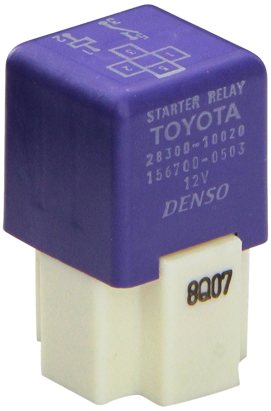 Genuine Toyota (28300-10020) Starter Relay Assembly
