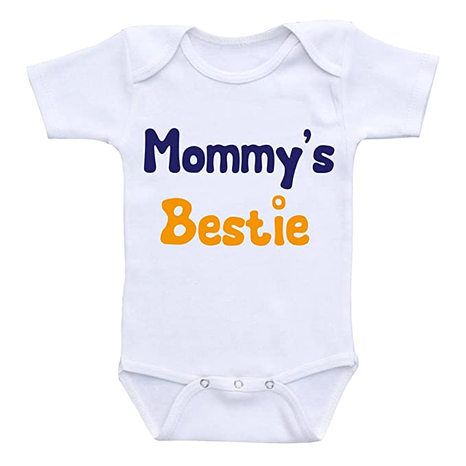 Amazon Com Mommy Is My Bestie Baby Onsie Gerber Mommy Mommy Gifts
