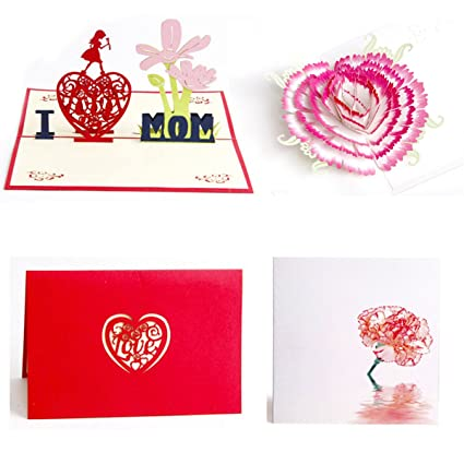 Amazon Buytra Mothers Day Card Handmade 3d Pop Up Greeting