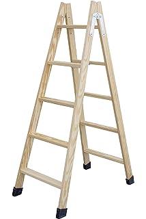 DOJA Industrial | Escalera pintor PLABELL BLD5 | Peso 7Kg Madera ...