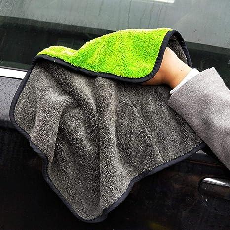 KOBWA Limpieza Coche,Pawaca Toallas de Limpieza para Coche Ultra Gruesas de Felpa de Microfibra