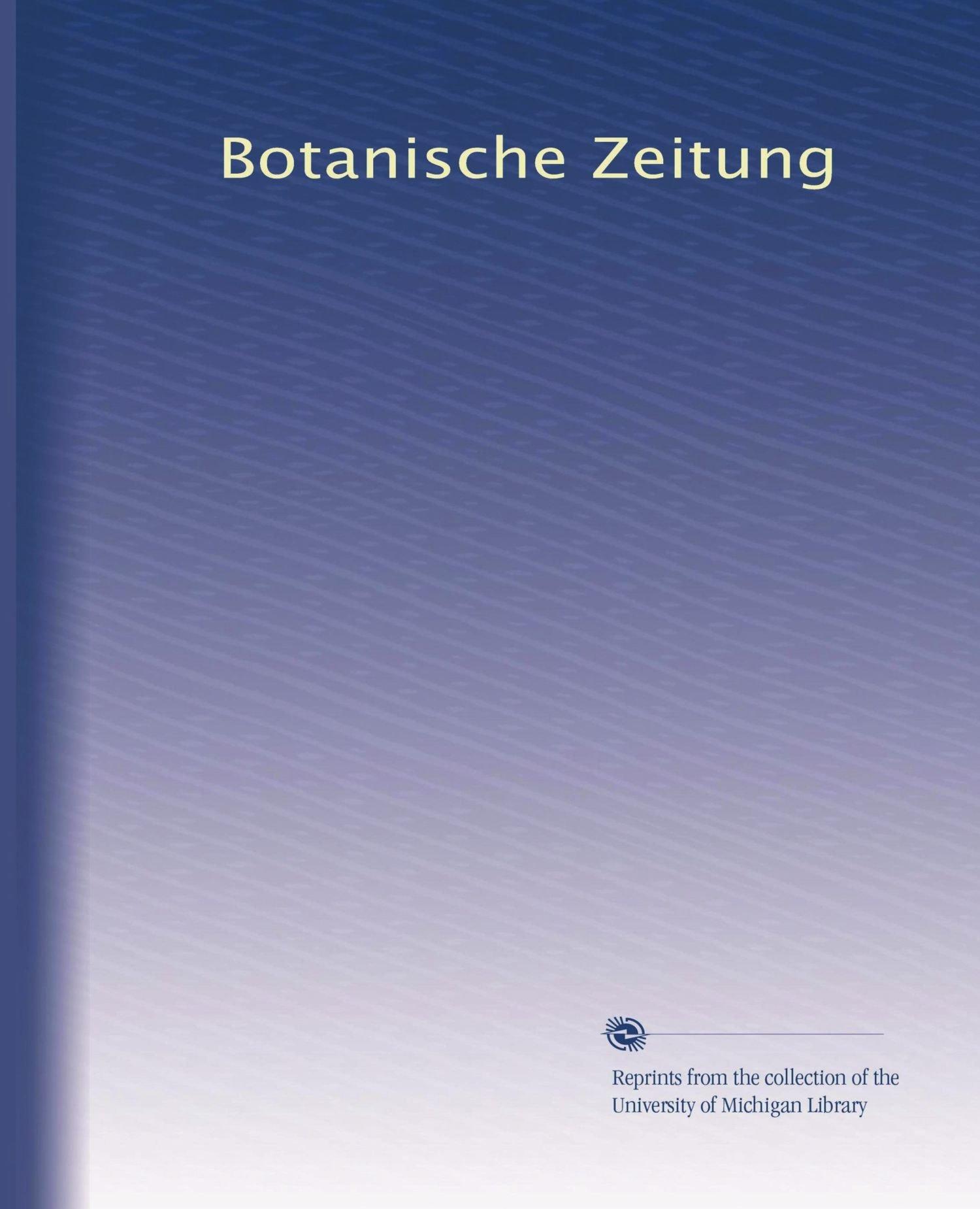 Botanische Zeitung (Volume 46) (German Edition) ebook