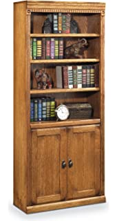 contemporary library furniture. Martin Furniture Huntington Oxford Library Bookcase With Lower Doors, Wheat Finish, Fully Assembled Contemporary
