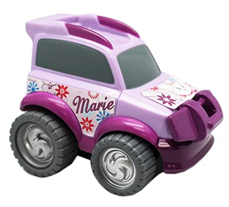 Disneys The Aristocats Marie Cat Friction Powered Kids Turbo Car: Lavender