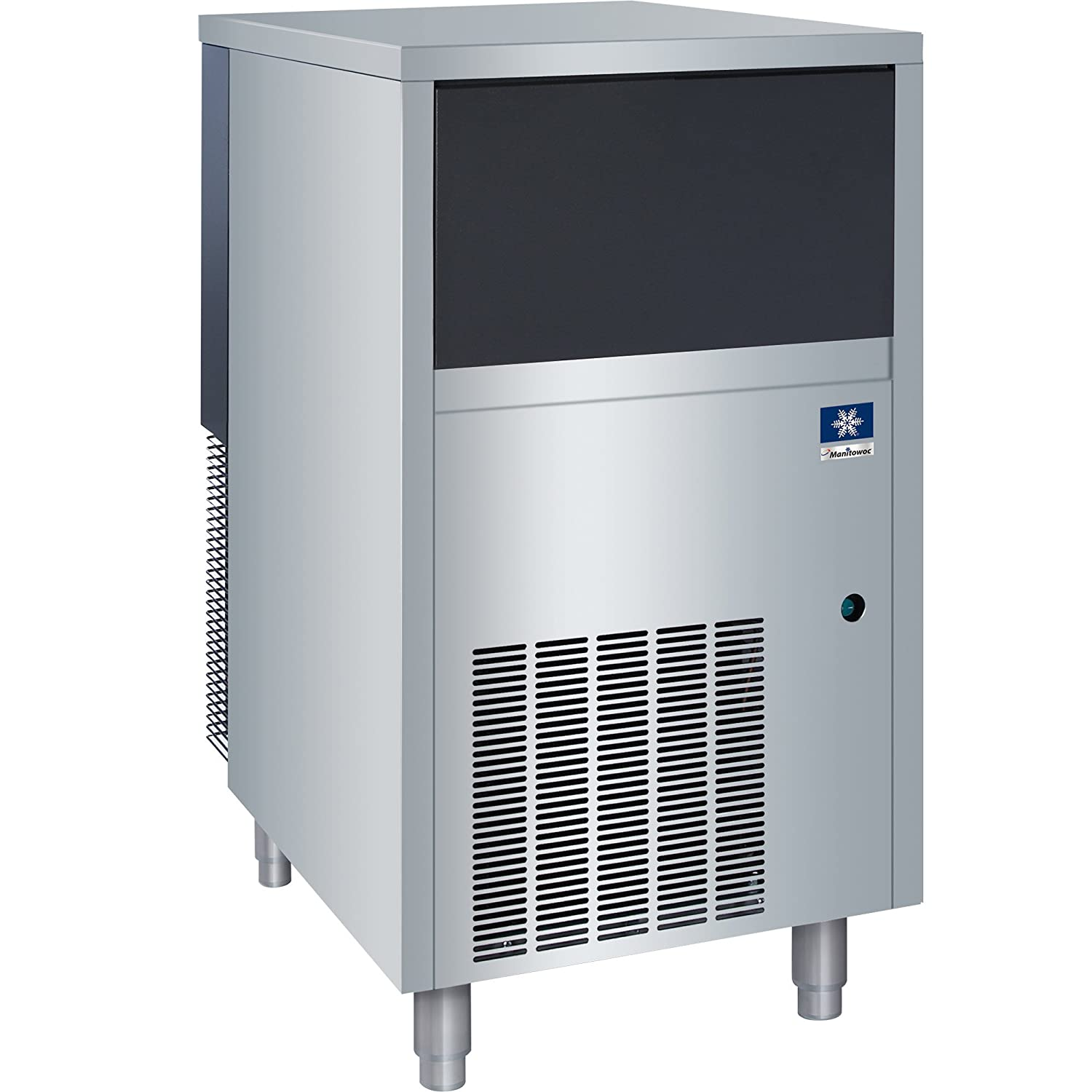 115V//60 Hz//1 Manitowoc RNS0244A-161 RNS-0244A Air Cooled Undercounter Nugget Ice Machine
