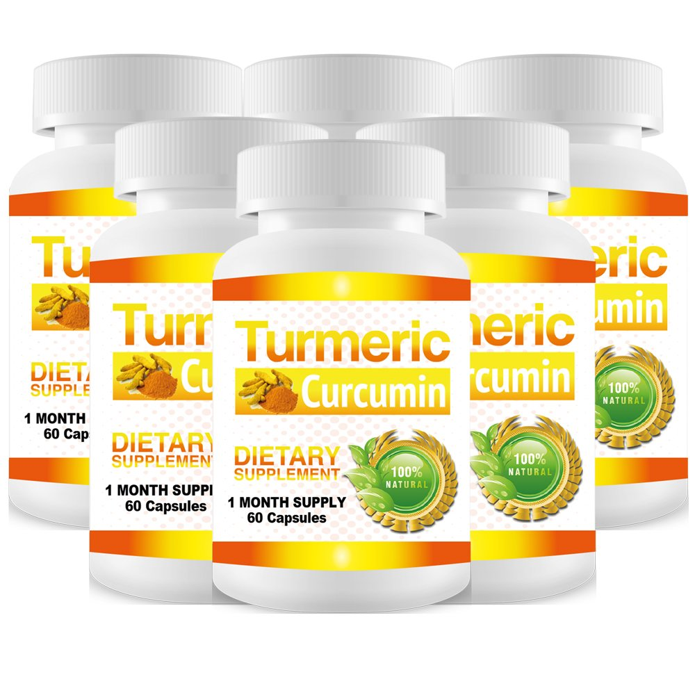 Pure Turmeric Curcumin Extract - 6 Month Supply