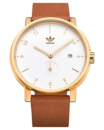 567b5d06fa4 Adidas District Goudkleurig horloge Z12-2548-00: Amazon.fr: Montres