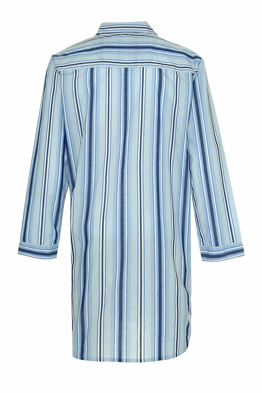 Champion Mens Westminster Polycotton Summer Striped Nightshirt 3175