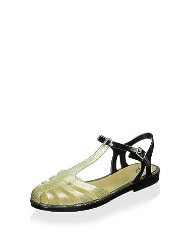 Amazon.com: Igor Womens Laida Jelly Sandal, Glitter Gold ...