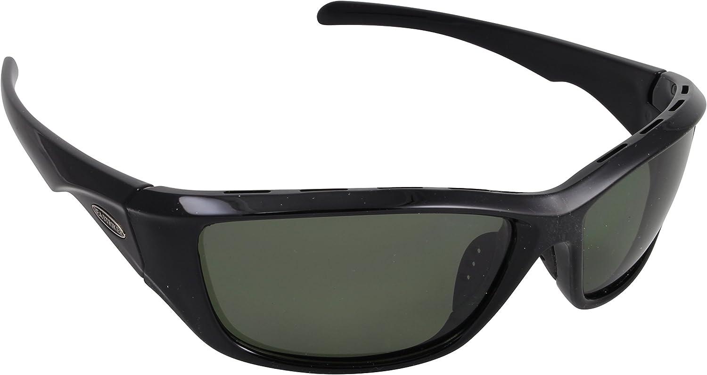 Sea Striker Day Tripper Polarized Sunglasses with Black Frame Grey Lenses, Grey