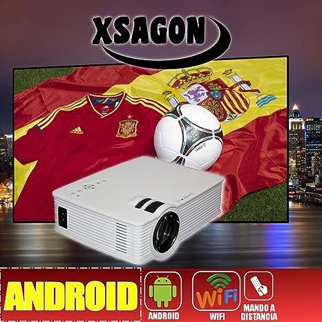 proyector Mod L280 con Android, WiFi, HDMI, USB,SD, AC3, 2 años de ...
