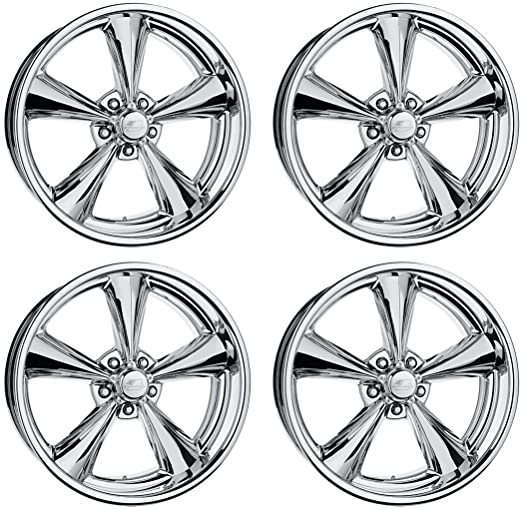 amazon new billet specialties mag polished aluminum wheel set 1992 Mustang Fastback 17x7x4 5 5x4 5 1964 1973 mustang shelby gt 350 gt 500 fastback boss 302 351 429 convertible hardtop grande mach 1 automotive