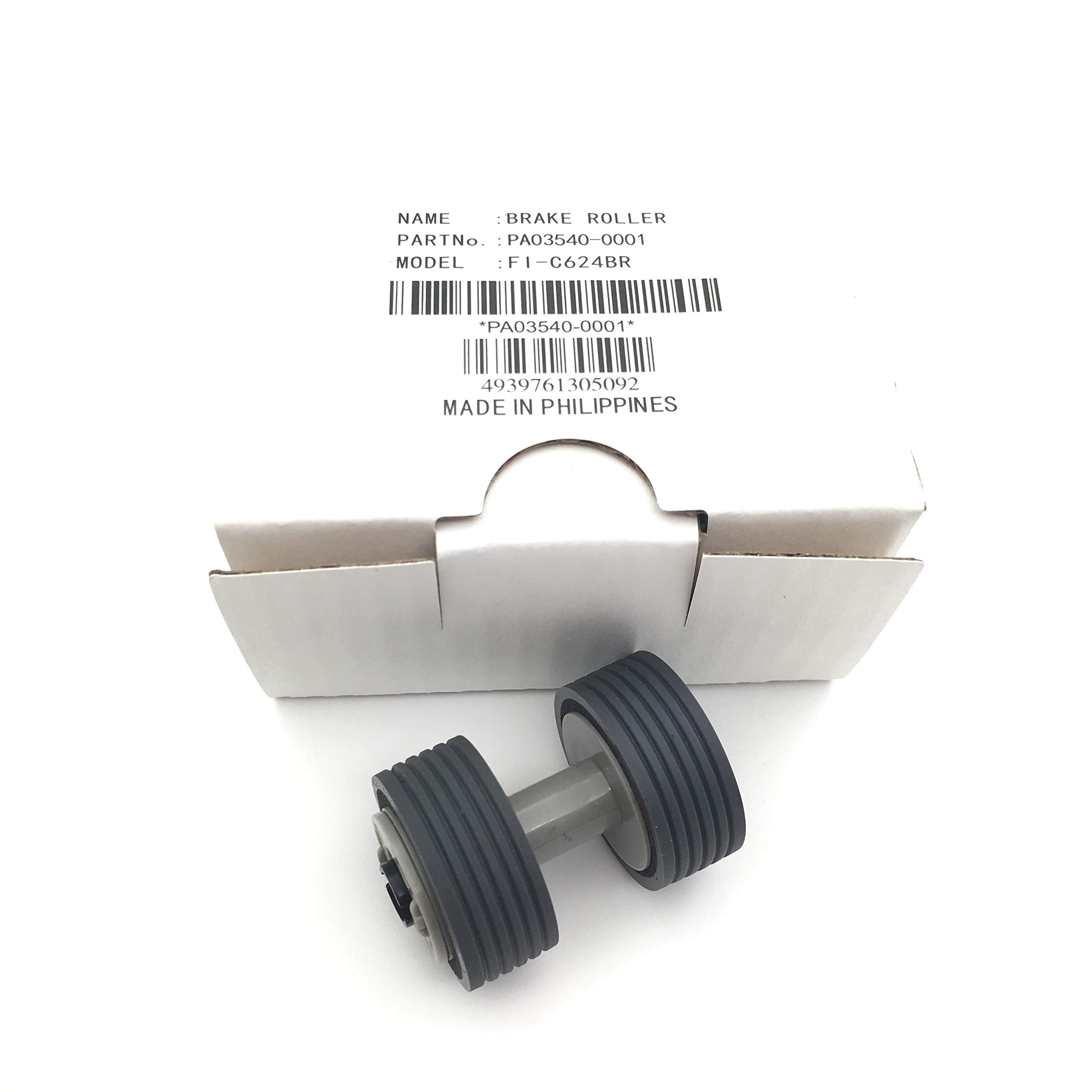 OKLILI PA03540-0001 Brake Roller for Fujitsu fi-6130 fi-6230 fi-6130Z fi-6125 fi-6230Z fi-6140 fi-6140Z fi-6240 fi-6240Z fi-6225 IX500