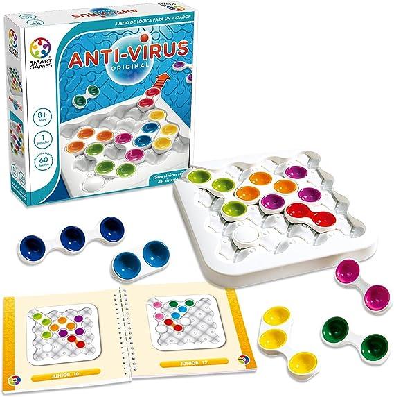 Smart Games- Juego, Anti-Virus Original (Lúdilo SG520ES): Amazon.es: Juguetes y juegos