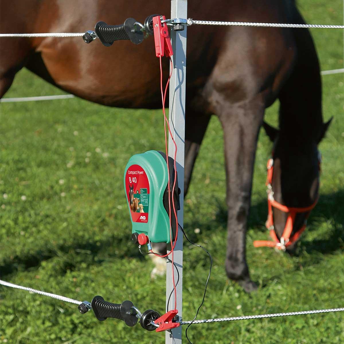 Recinto Elettrico Per Cavalli.Recinto Elettrico Per Cavalli Portatile Amazon It Sport E