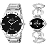 Ziera ZR7065-8001 Couple combo Men and women Watch - For Couple