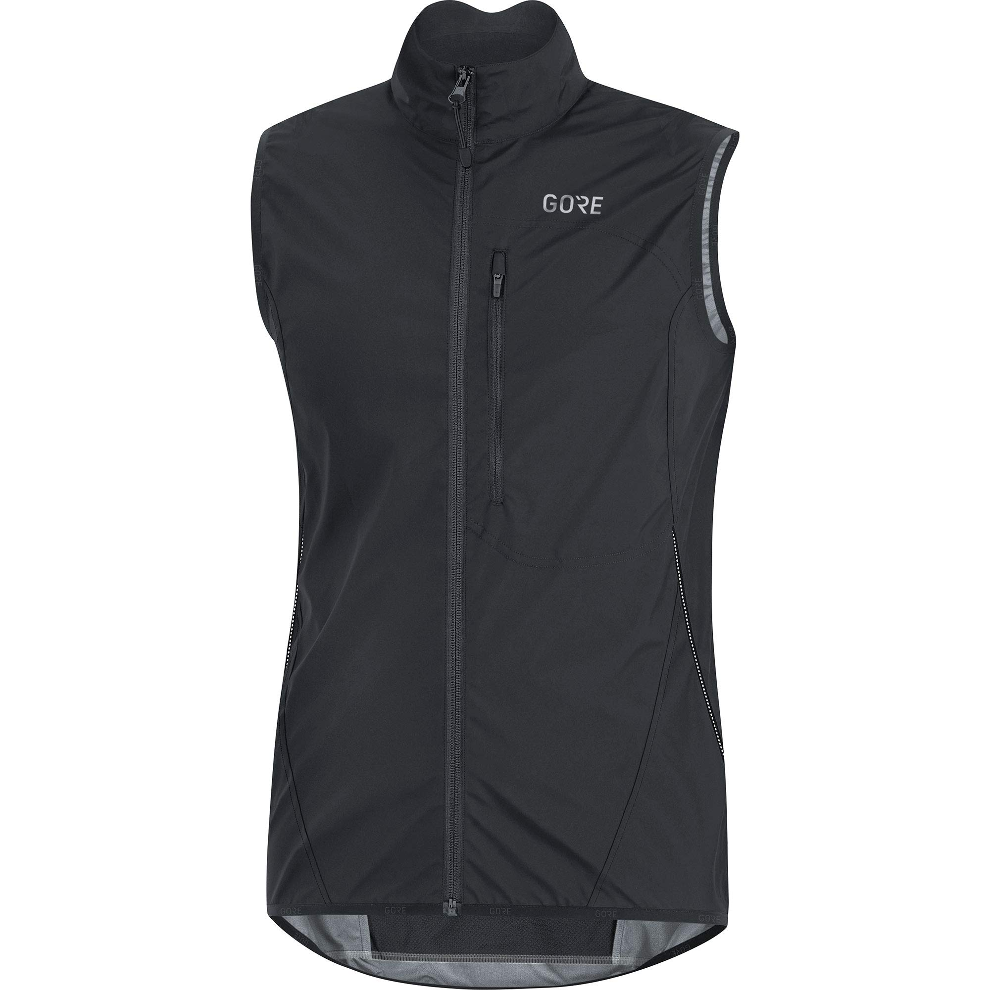 GORE Wear C3 Men's Vest GORE WINDSTOPPER, S, Black by GORE WEAR