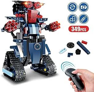 Bloque de Construcción Robot para Niños, 349 piezas Bloques DIY ...