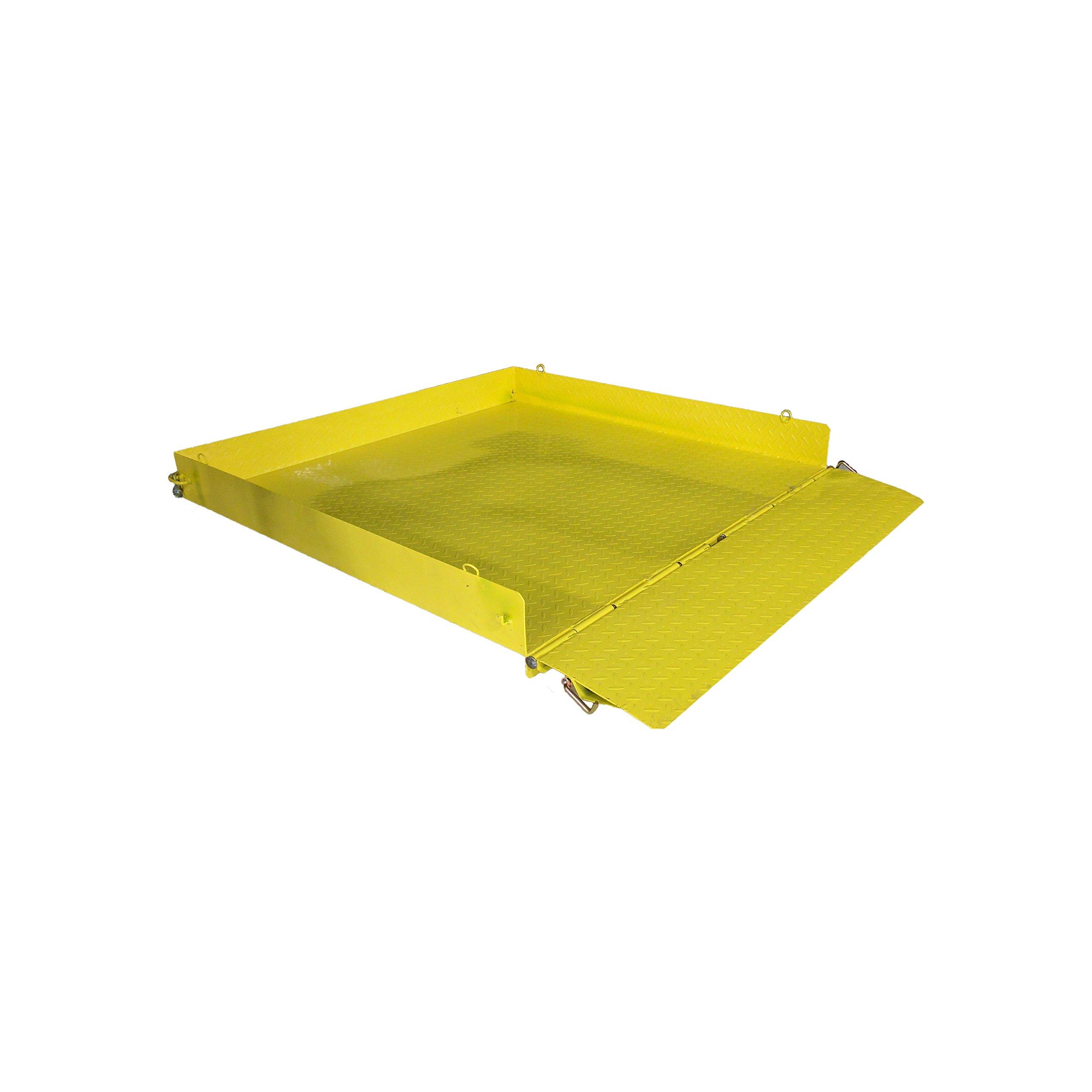 54'' x 54'' Titan Pallet Fork Loading Work Platform - 2,000 LB Capacity