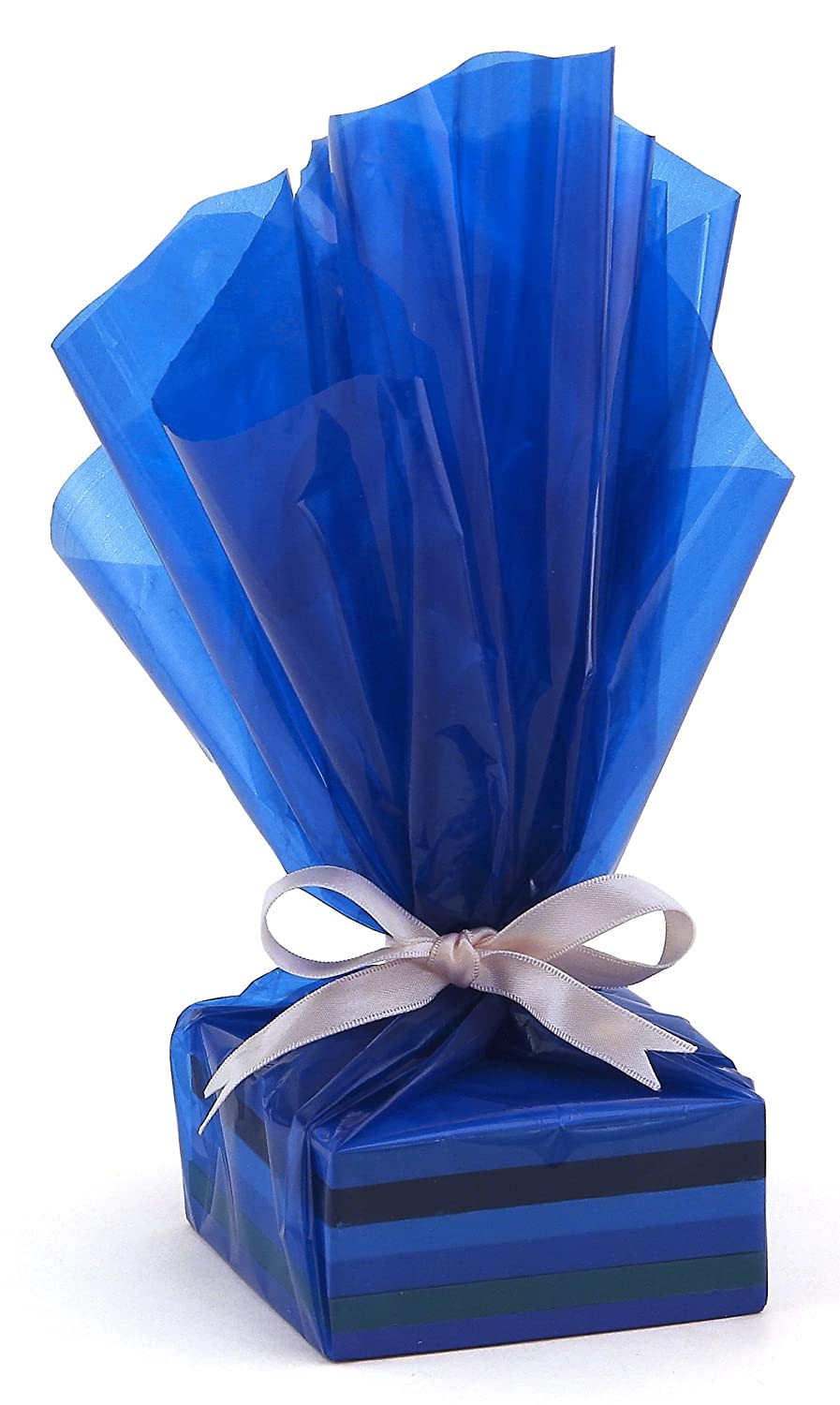 x 100 ft Cellophane Gift Wrap Roll Inc Clear 40 in Hygloss Products inches x 100-feet