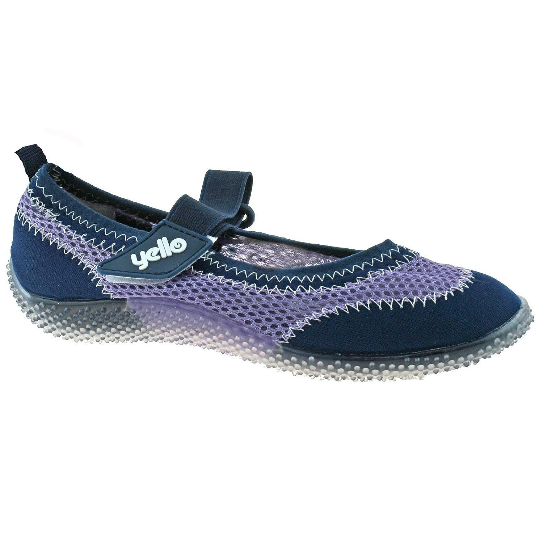 Yello Strappy, Damen Aqua Schuhe One Size FW929