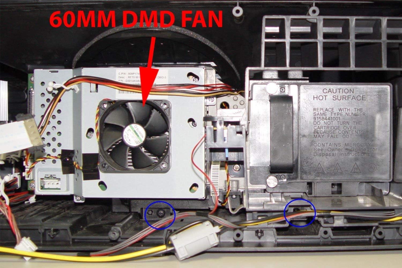 A Mitsubishi 299P359010 Fan GM1206PHV2 DMD
