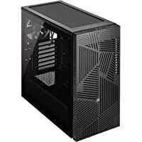 CORSAIR CC-9011181-WW 275R Airflow Mid-Tower PC Gaming Case, Tempered Glass - Black