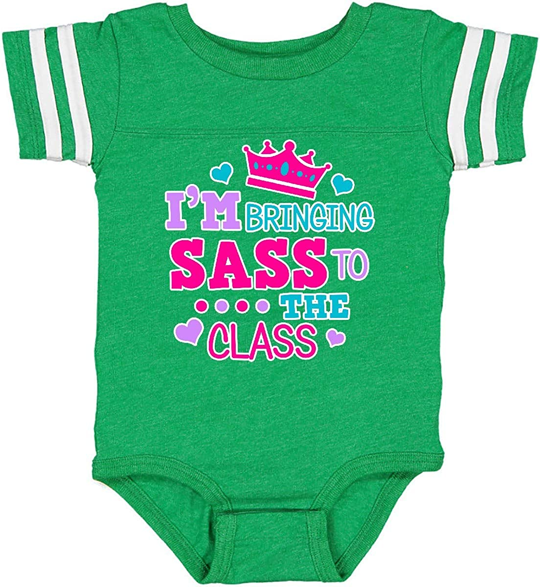 inktastic Back to School Im Bringing Sass to The Class with Infant Creeper